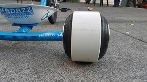 """Rear Wheels - 8"""" Stretch combo"""