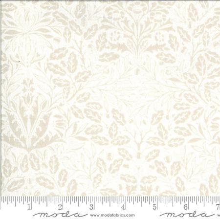 Dover Acorn Damask Linen White 18701-11