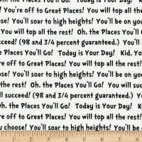 Dr. Seuss - Oh, the places you'll Go 183882