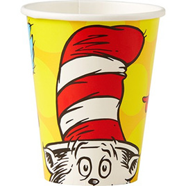 Dr. Seuss cups x 8