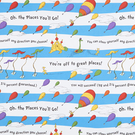 Dr. Seuss - Oh, the places you'll Go 18387195