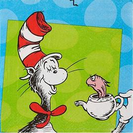 Dr. Seuss napkins x 16