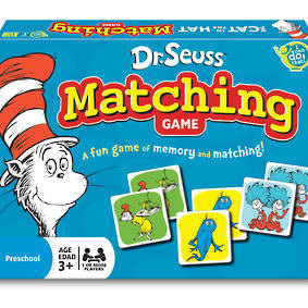 Dr. Seuss Matching Game
