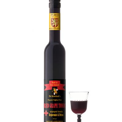 Dr Kirichuk's Rejuvenate & Detox Red Grape Tonic
