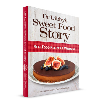 Dr Libby's Sweet Food Story - Hard Cover (autographed)