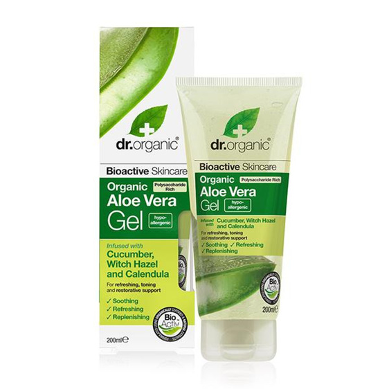 Dr Organic Aloe Vera Gel With Cucumber 200ml