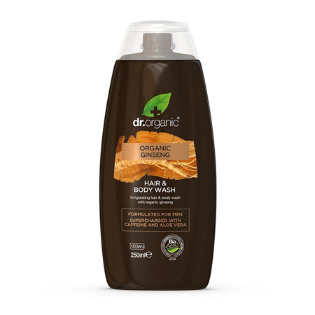 Dr Organic Ginseng Hair and Body Wash 250ml