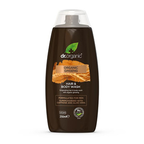 Dr Organic Ginseng Hair and Body Wash 250ml