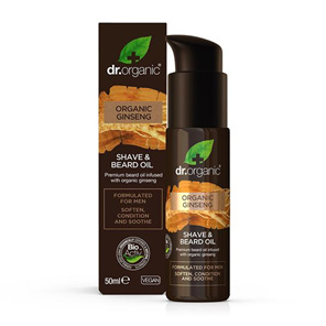 Dr Organic Ginseng Shave and Beard Oil 50ml