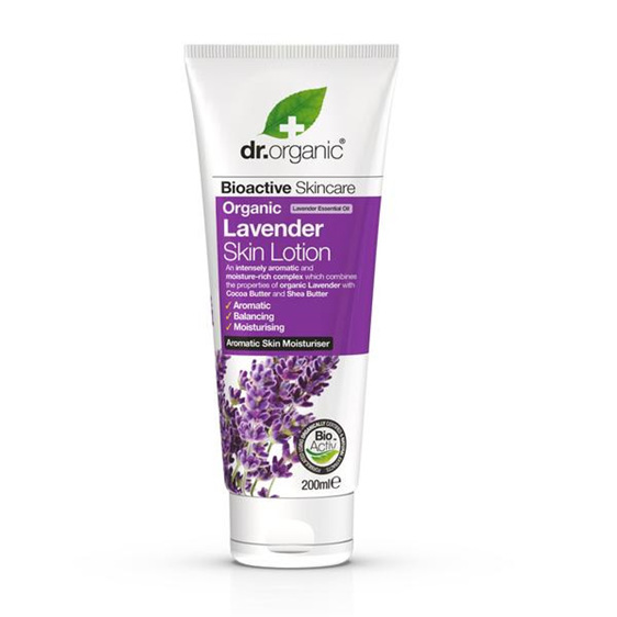 Dr Organic Lavender Skin Lotion 200ml