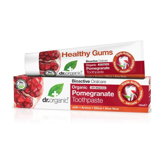 Dr Organic Pomegranate Toothpaste 100ml