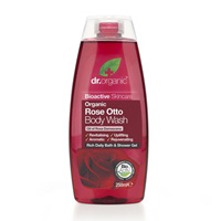 Dr Organic Rose Otto Body Wash 250ml