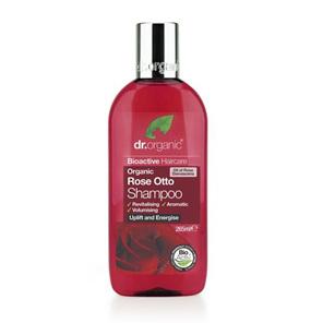 Dr Organic Rose Otto Shampoo 265ml