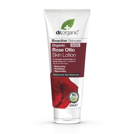 Dr Organic Rose Otto Skin Lotion 200ml