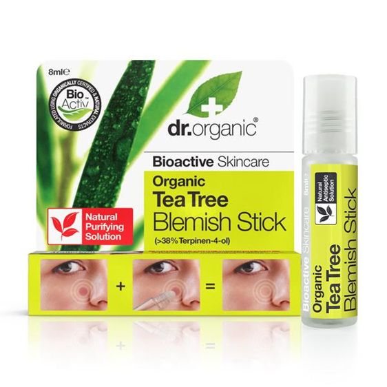 Dr Organic Tea Tree Blemish Stick 8Ml