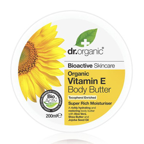 Dr Organic Vitamin E Body Butter 200ml