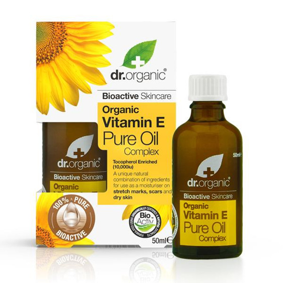 Dr Organic Vitamin E Pure Oil 50ml