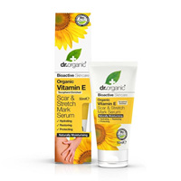 Dr Organic Vitamin E Scar  Stretch Mark Serum 50ml