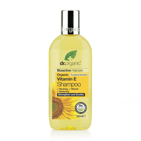 Dr Organic Vitamin E Shampoo 265ml