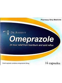 Dr Reddy Omeprazole 20mg 14 Caps