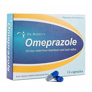Dr Reddy's Omeprazole 20mg 14 Capsules