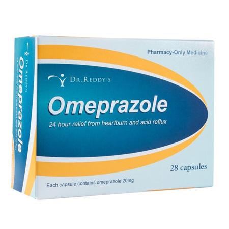 Dr Reddy's Omeprazole 20mg 28 Capsules