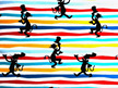 Dr Seuss - Cat In The Hat Knit - Stripe Silhouette