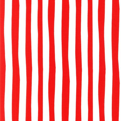 Dr Seuss- Cat In the Hat Stripe - Red