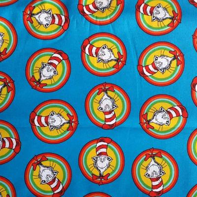 Dr Seuss - Celebrate Seuss Cat In The Hat Striped Circle - Multi
