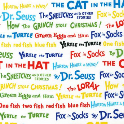 Dr Seuss - Celebrate Seuss - Celebration Book Titles