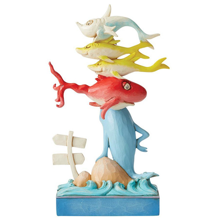 Dr Seuss - One Fish, Two fish. Red Fish.... figurine