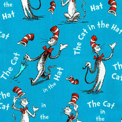 Dr Seuss - The Cat In The Hat - Celebration Blue