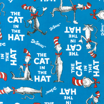 Dr Seuss - The Cat In The Hat - Celebration Blue Too