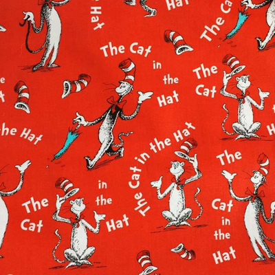 Dr Seuss - The Cat In The Hat - Celebration Red