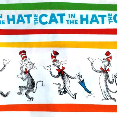 Dr Seuss - The Cat In The Hat - Strip