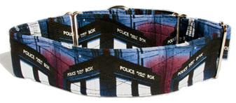 """Dr Who Designer 2"""" Collar - caff 10"""