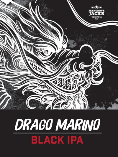 Drago Marino Black IPA Grain Kit