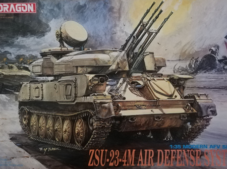 Dragon 1/35 ZSU-23-4M Air Defense System (DRA3518)