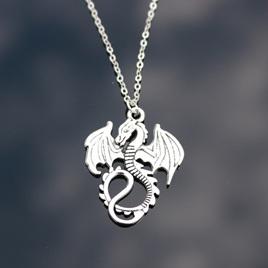 Dragon Pendant Necklace (unisex)