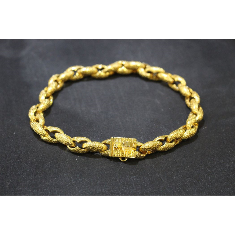 Dragon Small Custom Gold Collar by Big Dog Chains