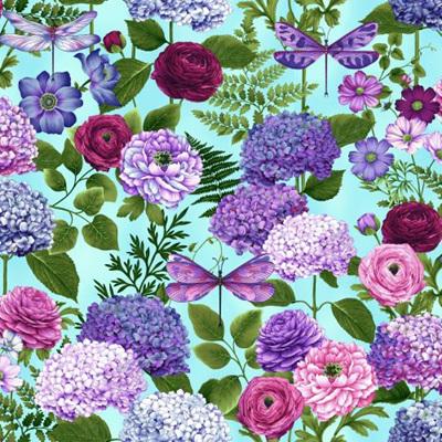 Dragonfly Garden - Hydrangea Bouquets