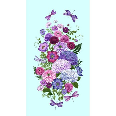 Dragonfly Garden - Panel