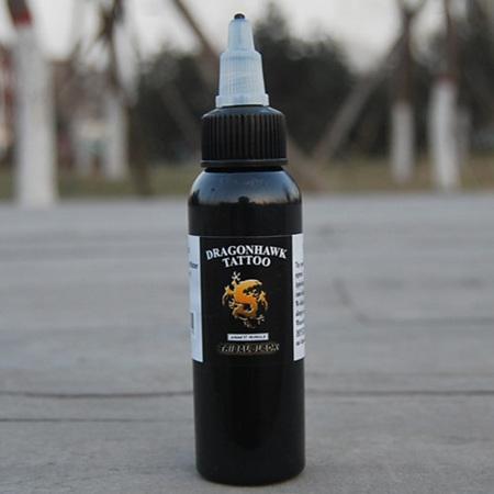 Dragonhawk Black Ink 2oz