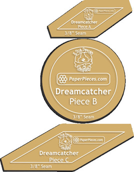 Dreamcatcher Add On Acrylic Templates 3pc