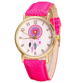 DREAMCATCHER WATCH - HOT PINK