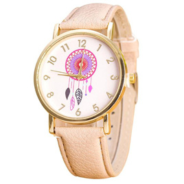DREAMCATCHER WATCH - LIGHT BROWN