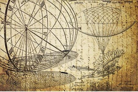 Dreams of Flight 2 Royce Decoupage Paper