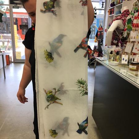 Dress Scarf - Birds Eye View #2