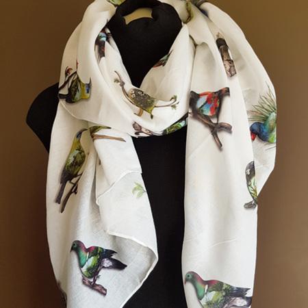 Dress Scarf - Birds Eye View