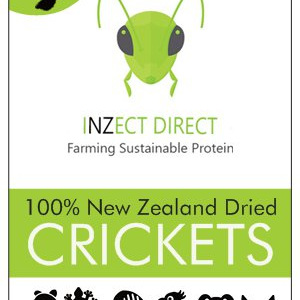 Dried New Zealand Crickets